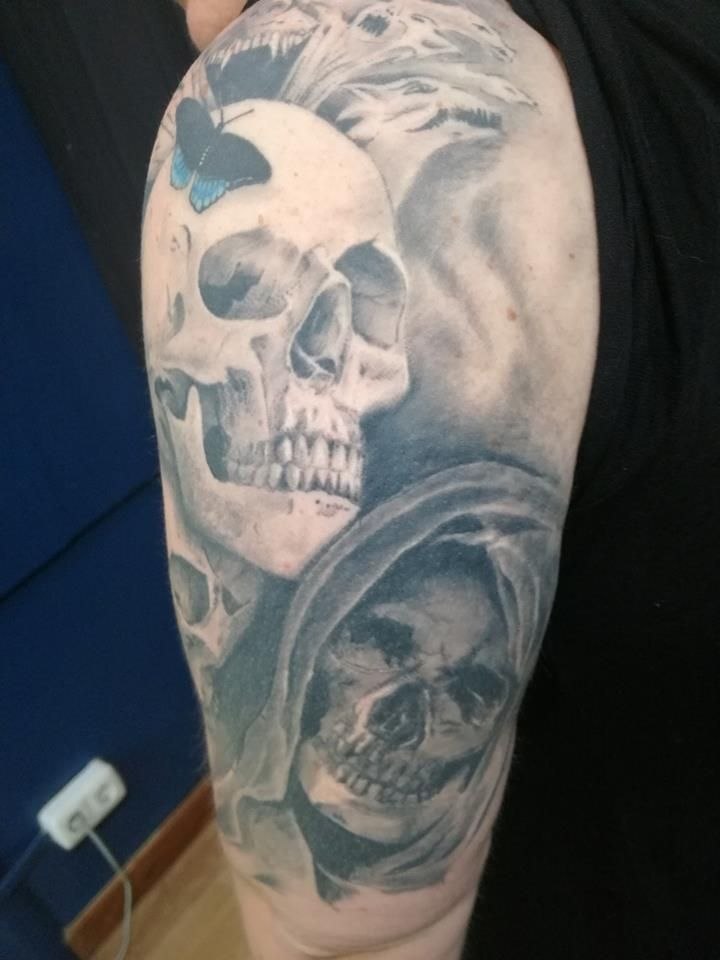 Tatuajes balck and grey San Sebastián