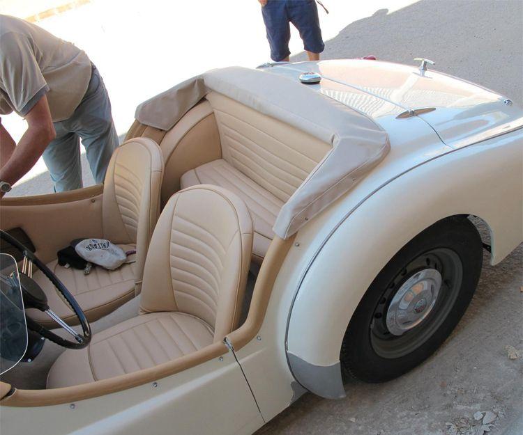 Tapizado del interior de vehículo