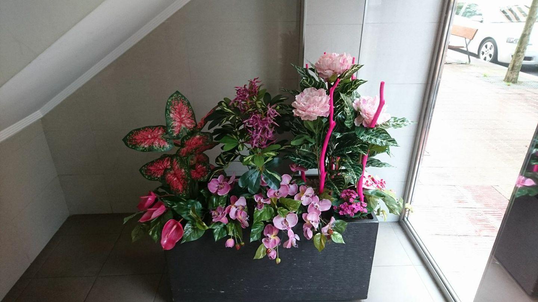 Decoraciones florales en portales en Barakaldo