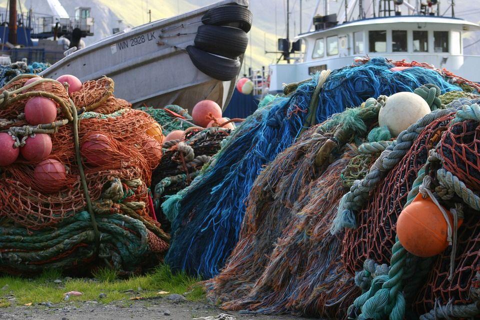 Redes para pesca de arrastre