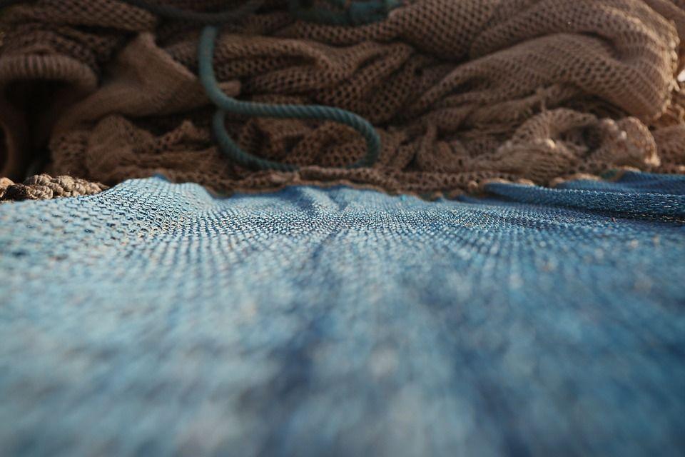 Reparación de redes de pesca Sant Carles de la Ràpita