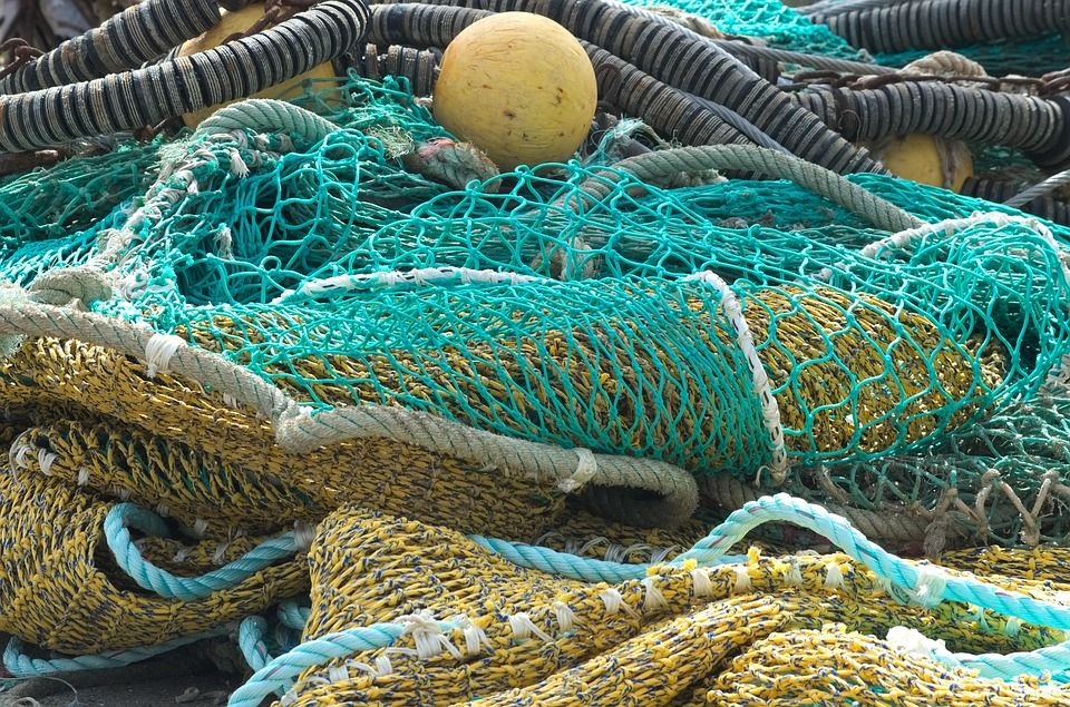 Artes de pesca en Sant Carles de la Ràpita
