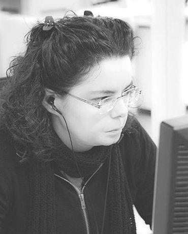 Maite Burgoa. Responsable de Proyectos y Herramientas TAO. (Memorias de Traducción, DTP, Filtrado de archivos)