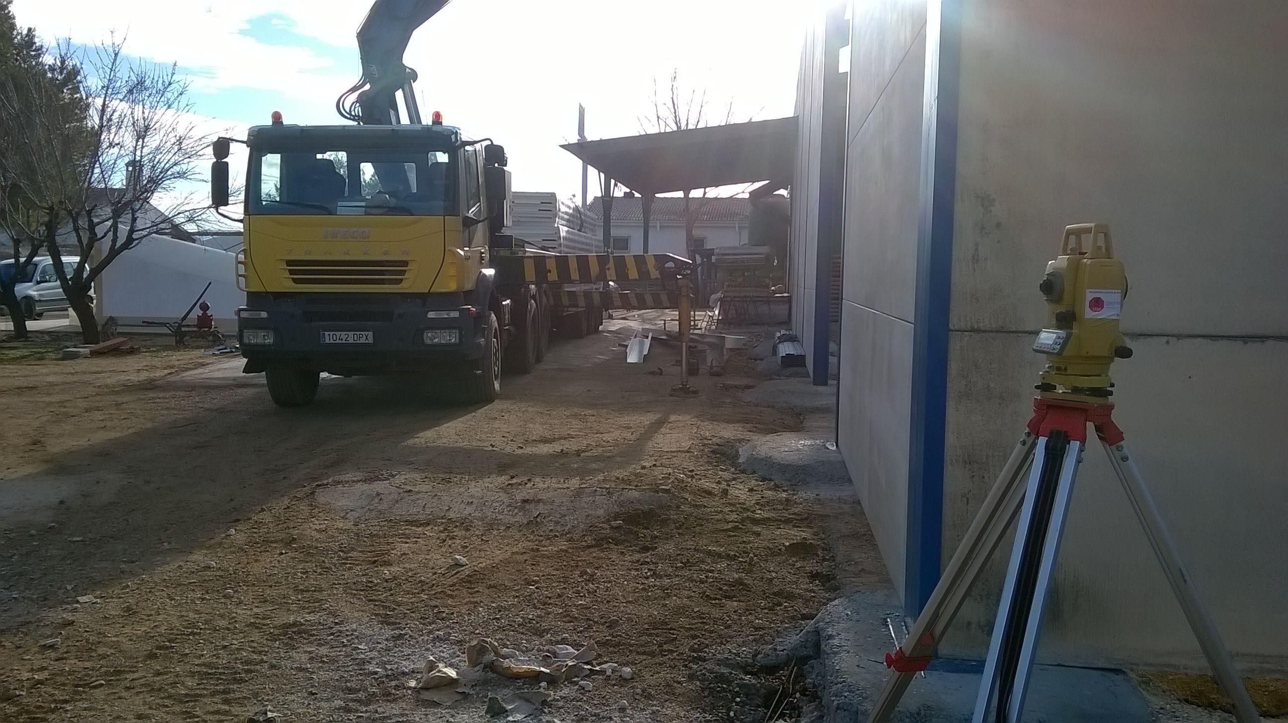 Excavaciones y derribos: Servicios de Estructuras Villarrobledo