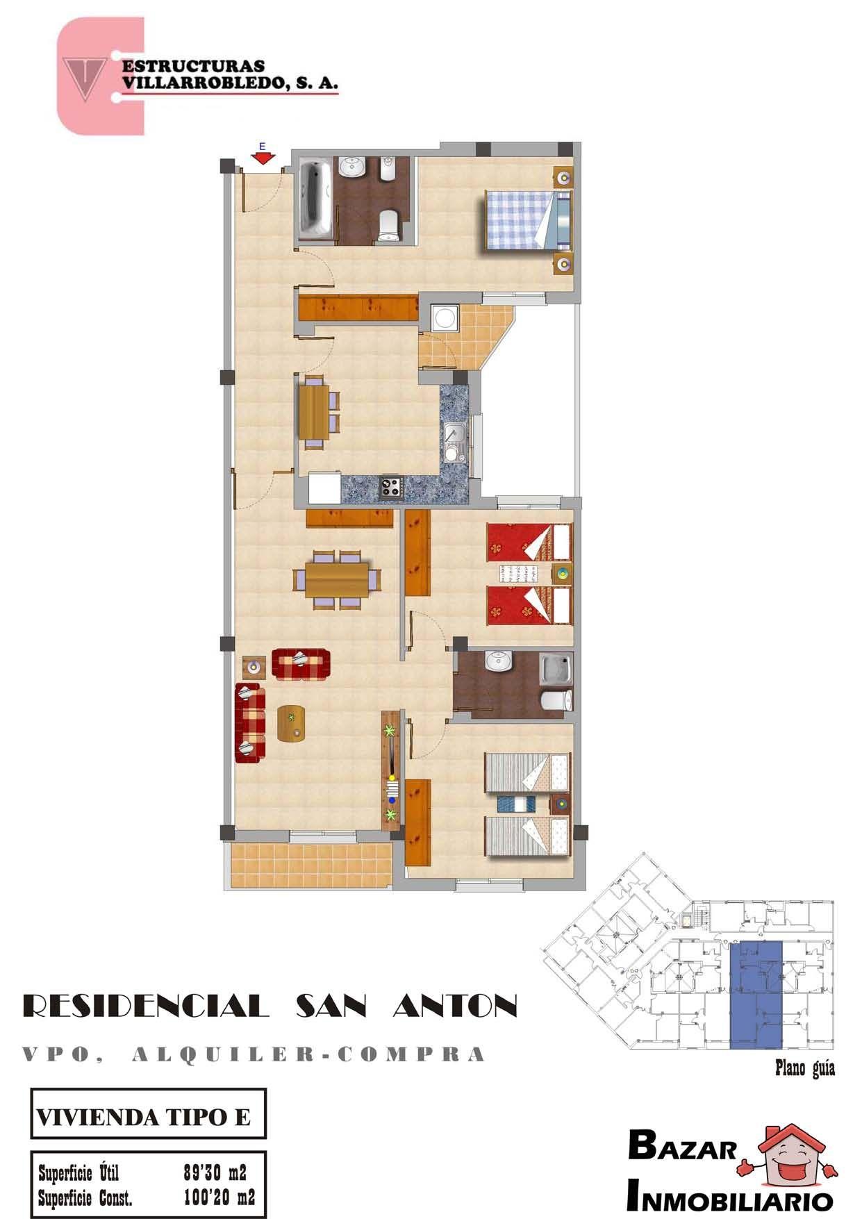 Promoción y venta de edificios: Servicios de Estructuras Villarrobledo