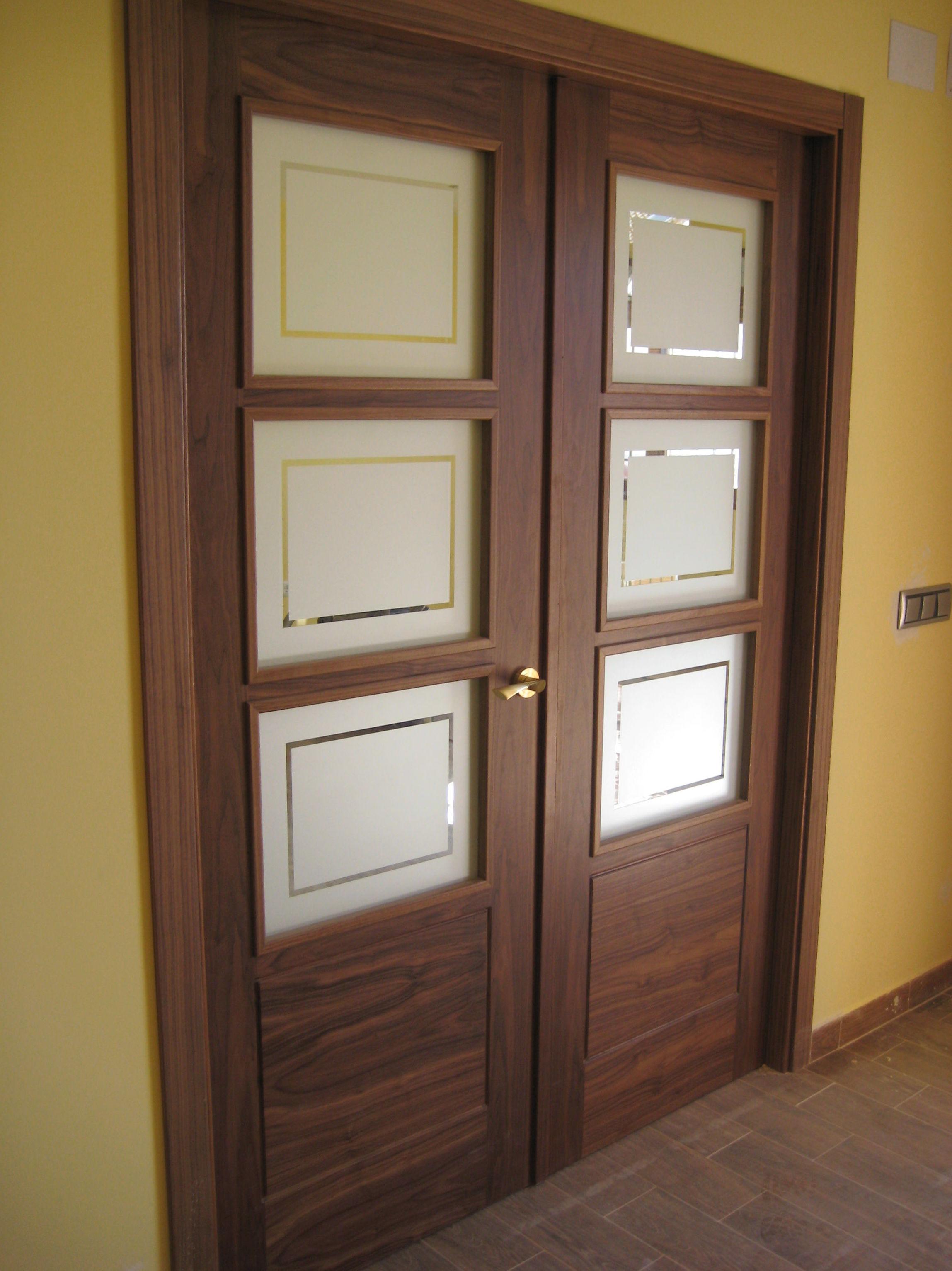 Foto 11 de carpinter a de madera en yuncler carpinter a jano - Puertas de salon con cristal ...