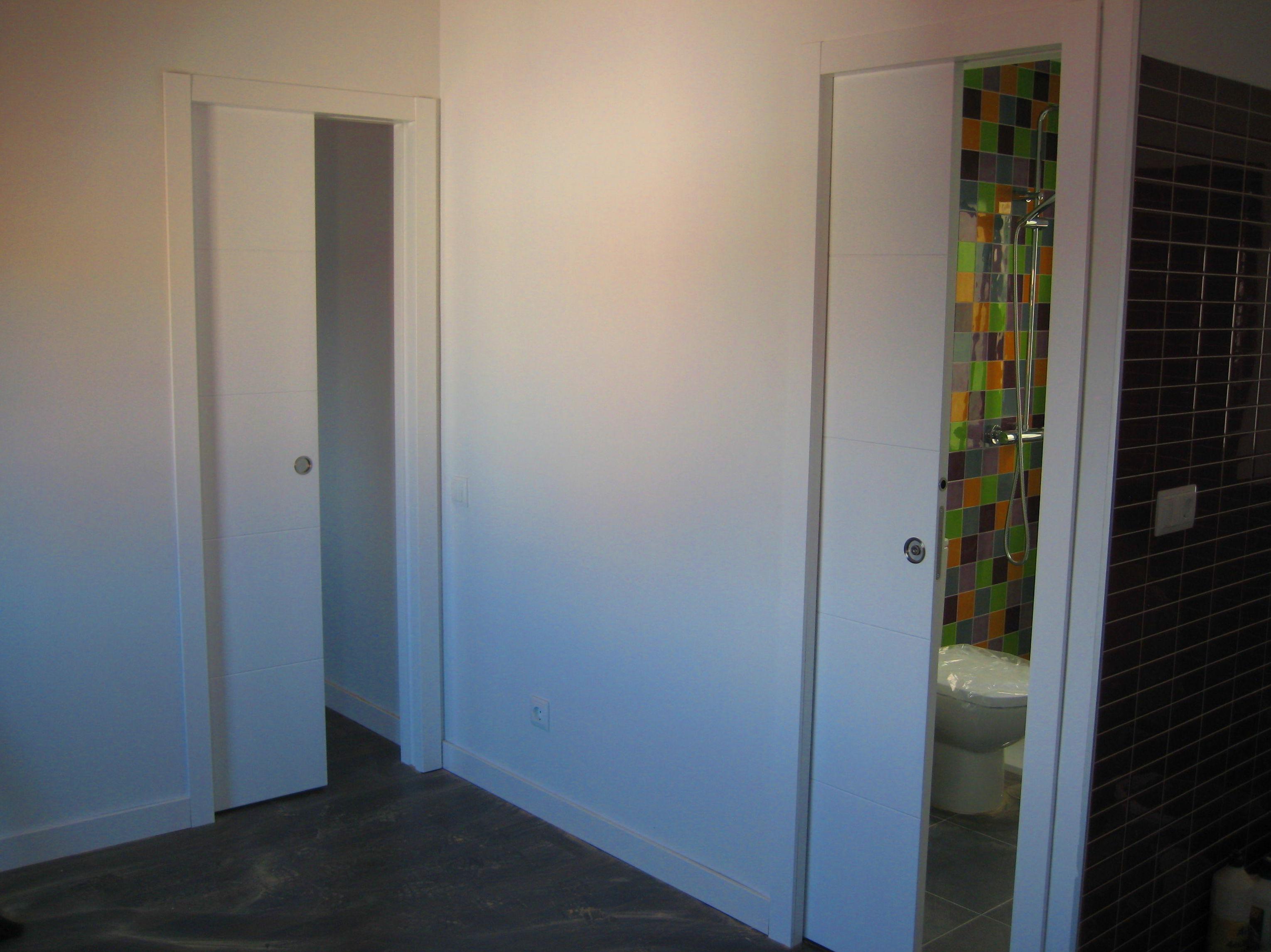 Ahorra espacio instalando puertas correderas