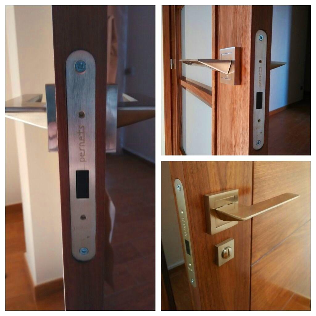 Picaporte magnetico, un paso mas en la evolución de la puerta.