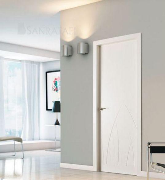 Puerta lacada modelo 981