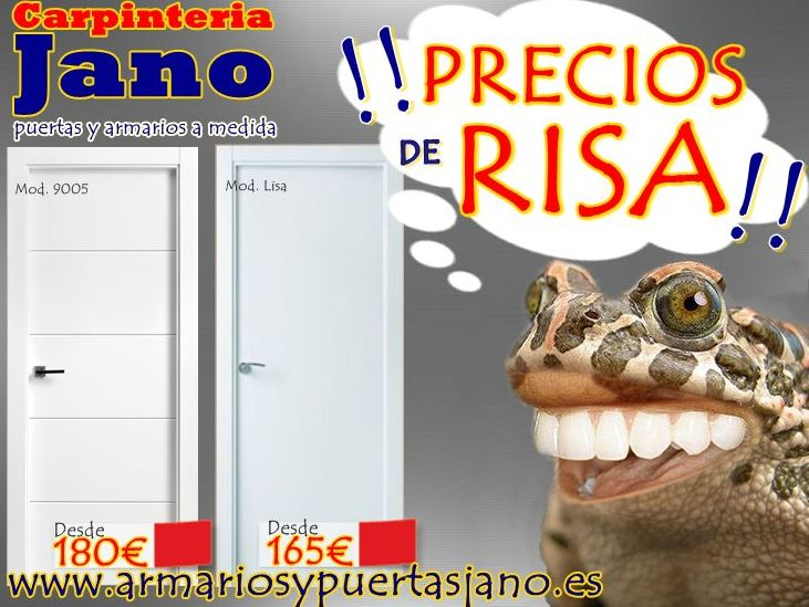 !!PRECIOS DE RISA EN PUERTAS LACADAS!!