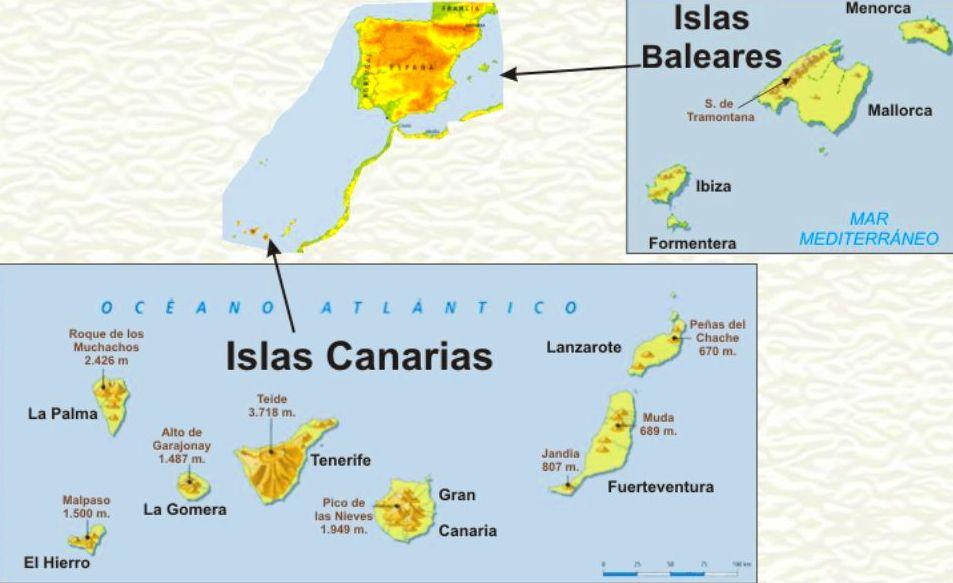 Envios expr s a canarias y baleares servicios de - Baleares y canarias ...