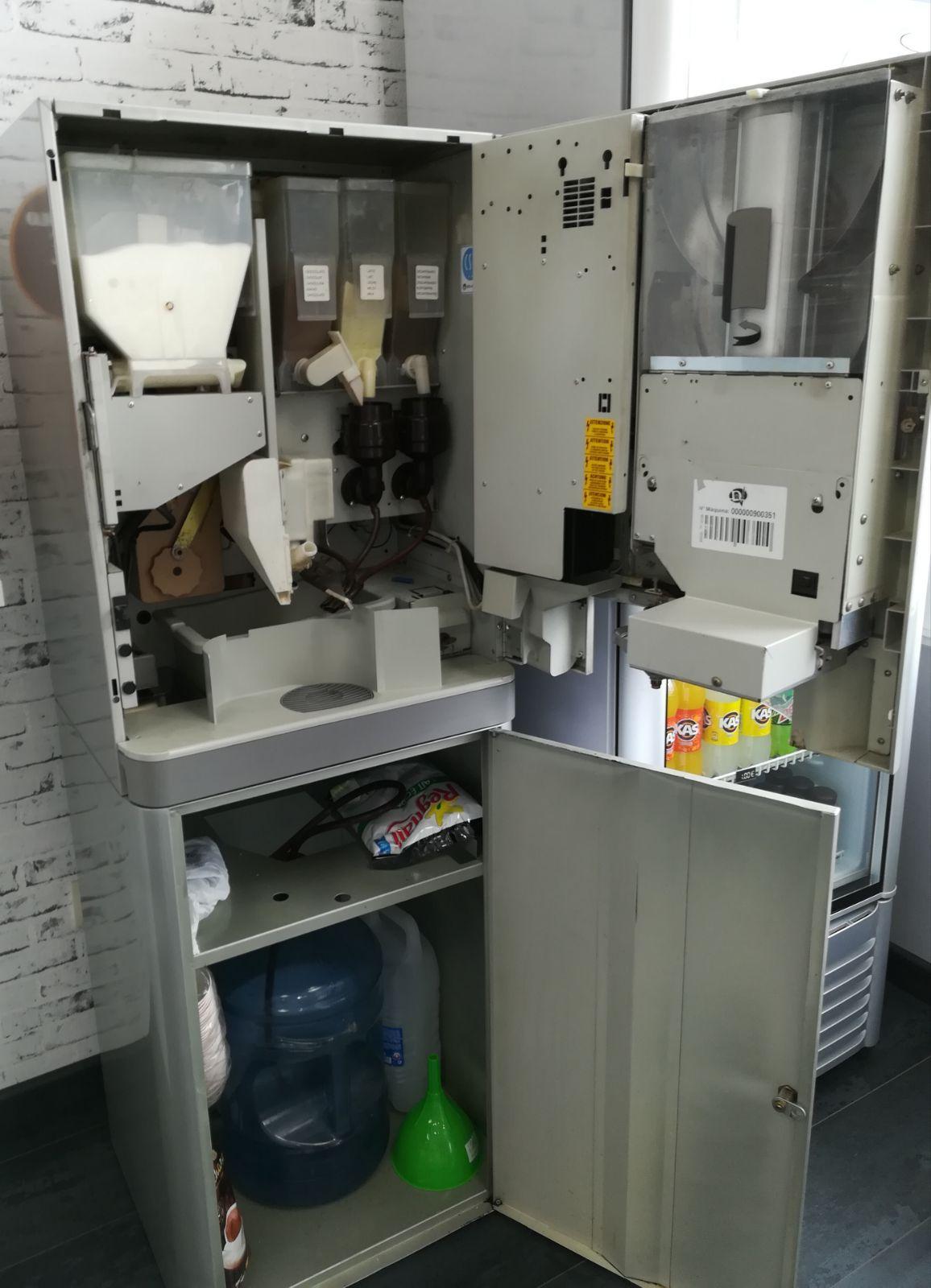 Instalación, mantenimiento y reparación de máquinas expendedoras