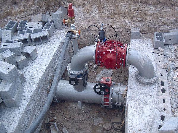 Instalación de electroválvula