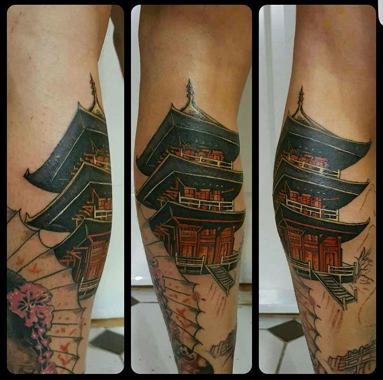 Tatuaje japonés Leganés