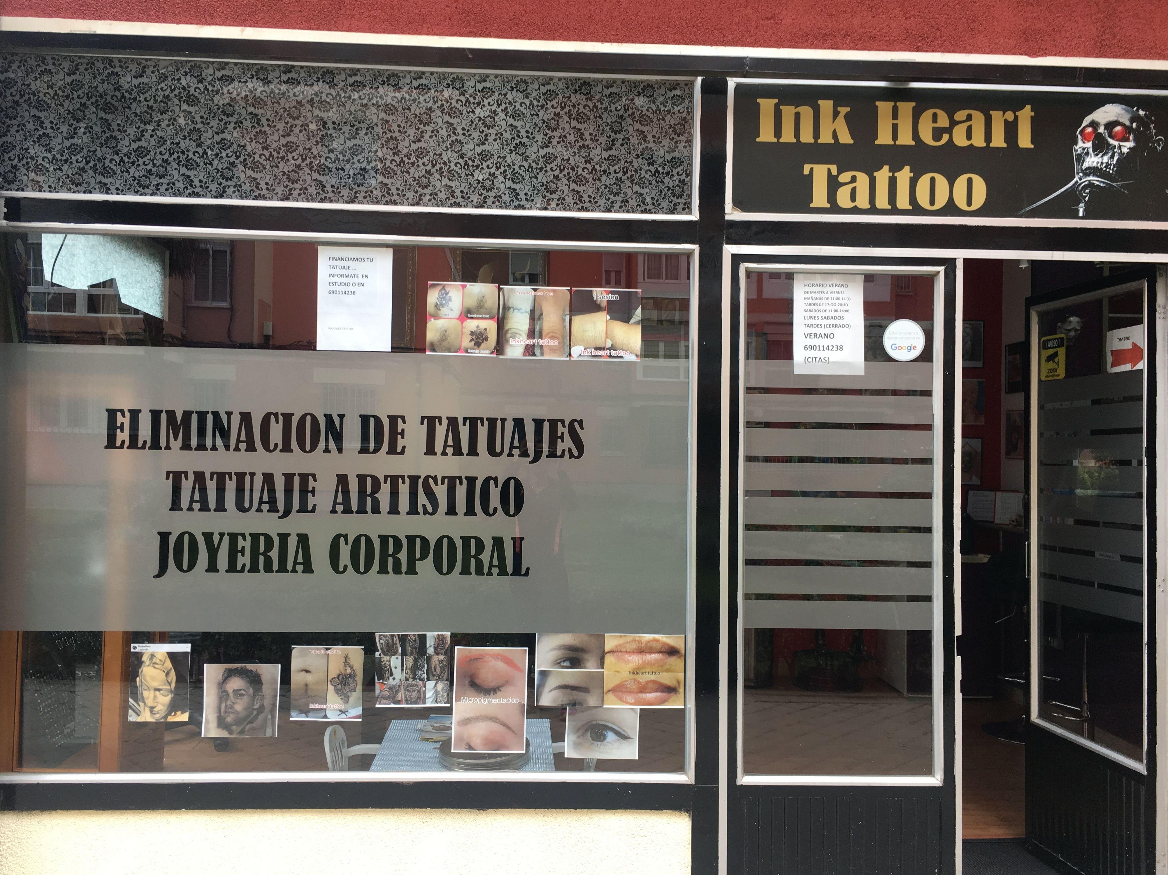 Estudio de tatuajes y eliminación