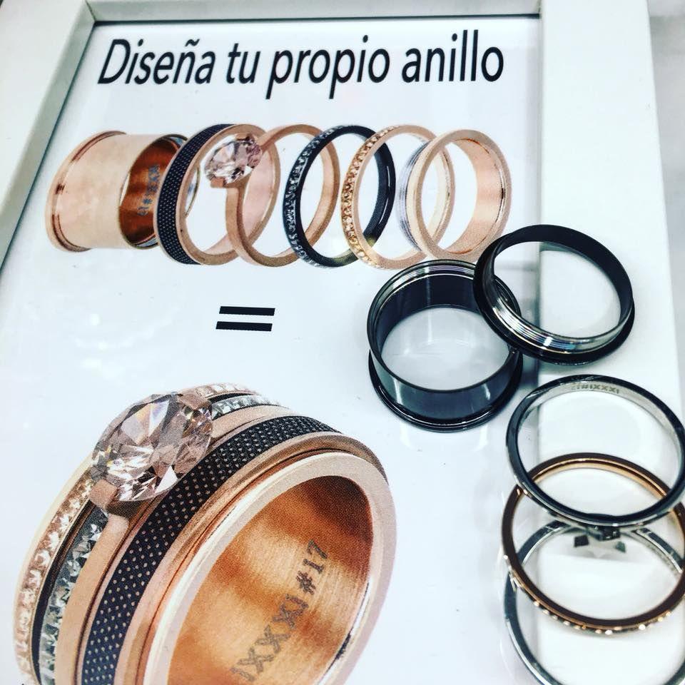 Diseña tu propio anillo en Barcelona