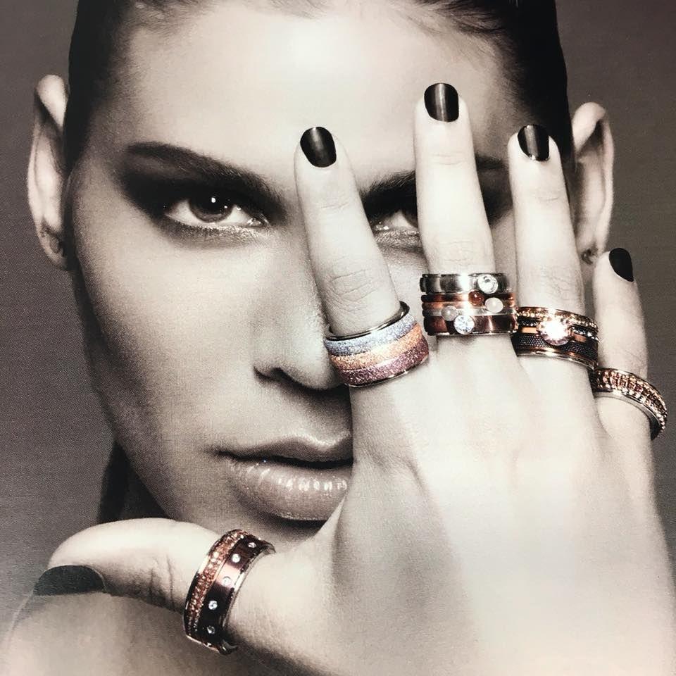 Gran variedad de anillos en Barcelona