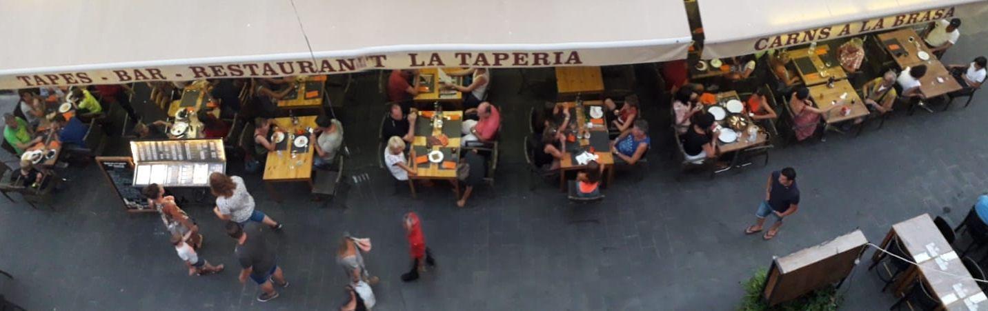 Restaurante de tapas con terraza en Roses