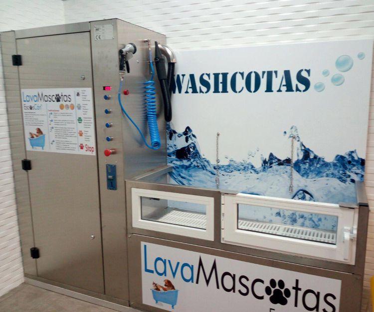 Máquina para autolavado de perros en Carabanchel