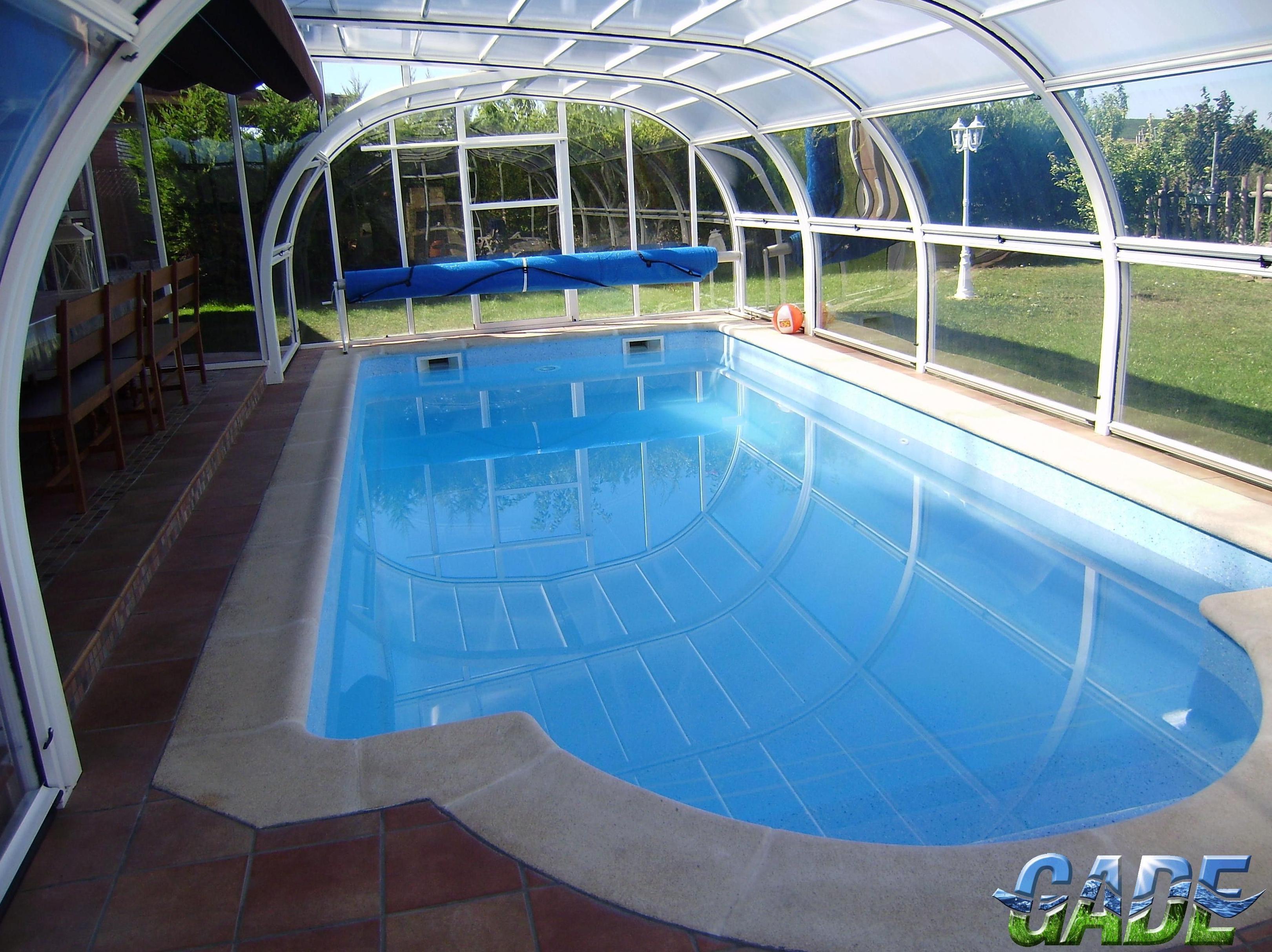 Cubiertas motorizadas de piscinas en la rioja y todo tipo for Piscinas de plastico para jardin