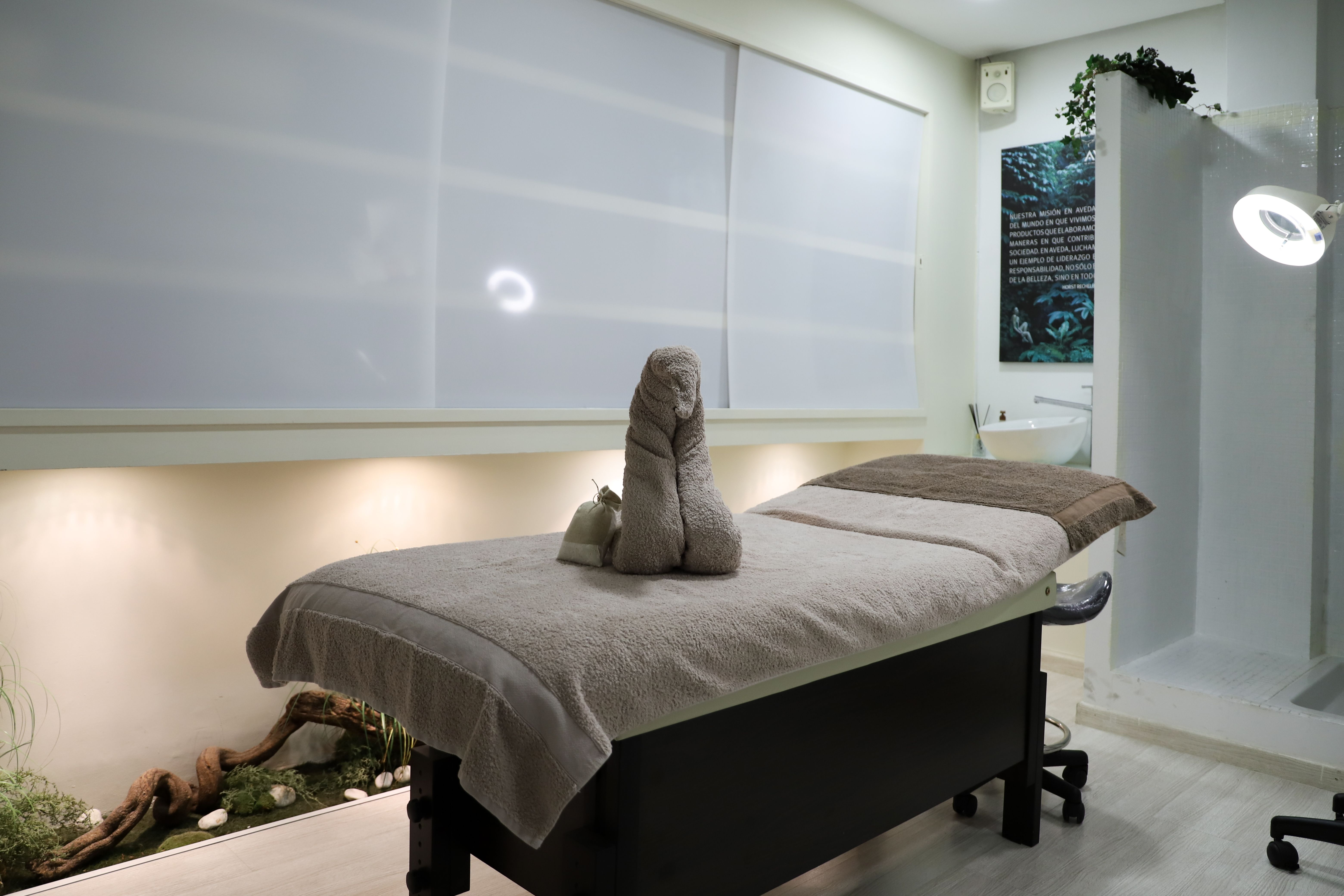 Zona de tratamientos corporales