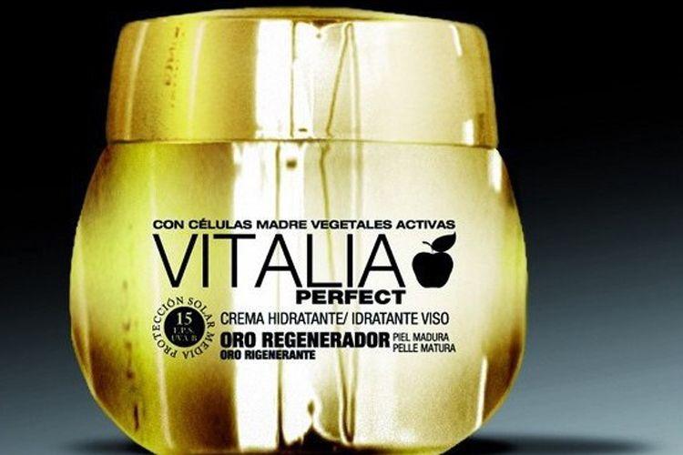 Vitalia perfect gold crema facial 50 ml