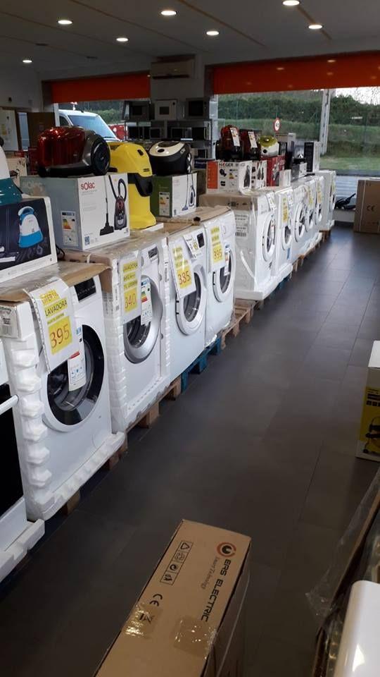 Venta de pequeños y grandes electrodomésticos en Castropol, Asturias
