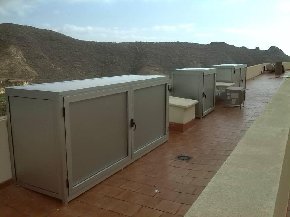 Muebles para máquinas de aire acondicionado