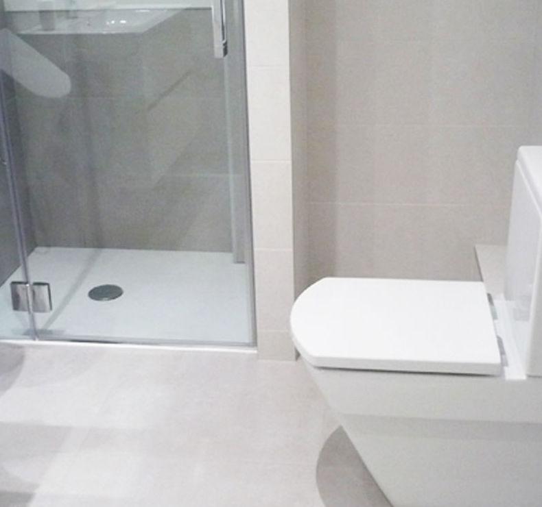 Cambio de bañera por plato de ducha en San Sebastián