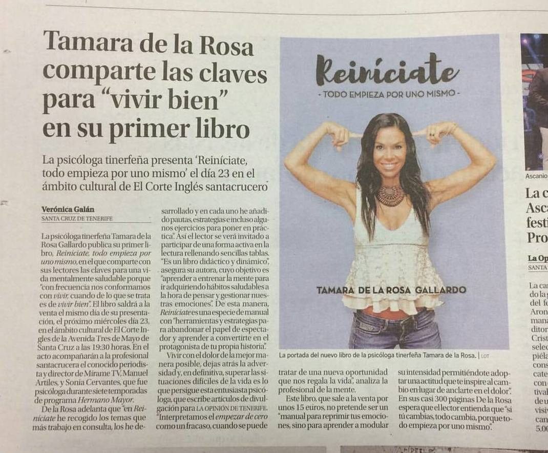 Foto 26 de Psicólogos en Santa Cruz de Tenerife | Tamara de la Rosa Psicóloga