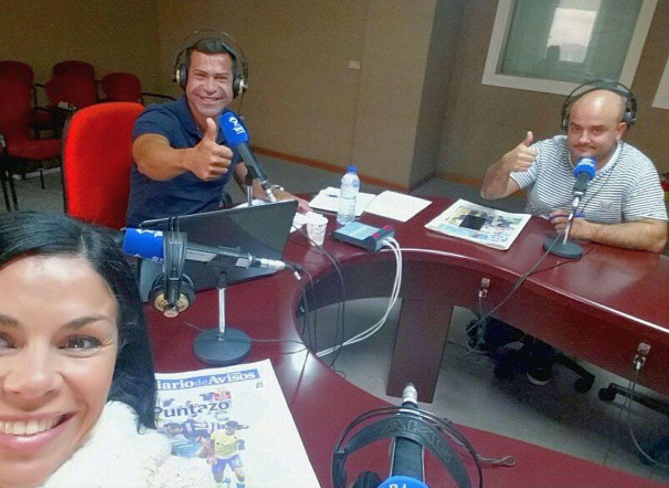 """En Teide Radio hablando de """"El ejercicio es terapéutico """""""