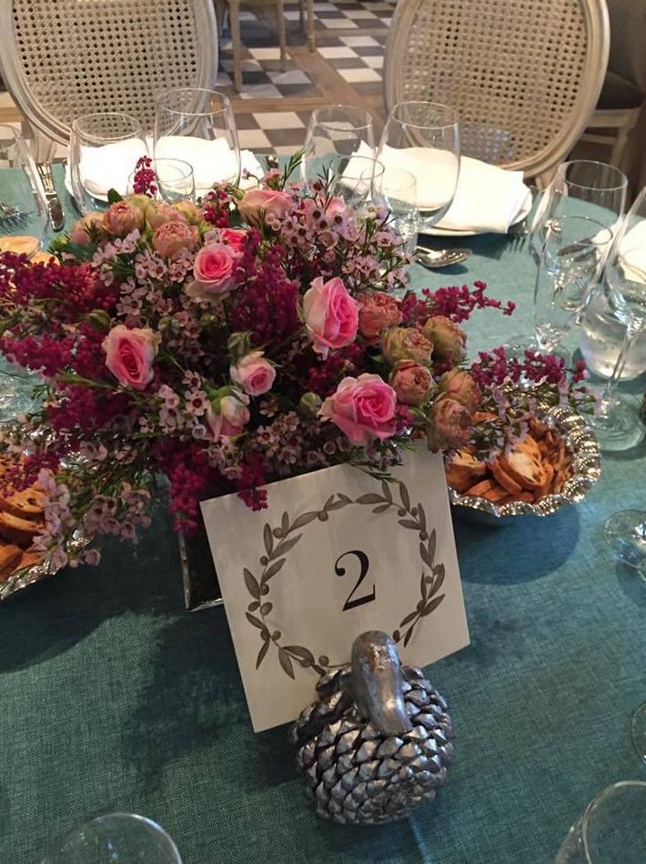 Centros florales para bodas