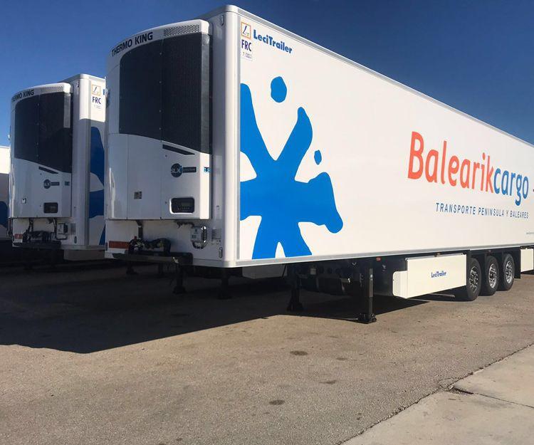 Transporte de productos en camiones frigoríficos a  Europa