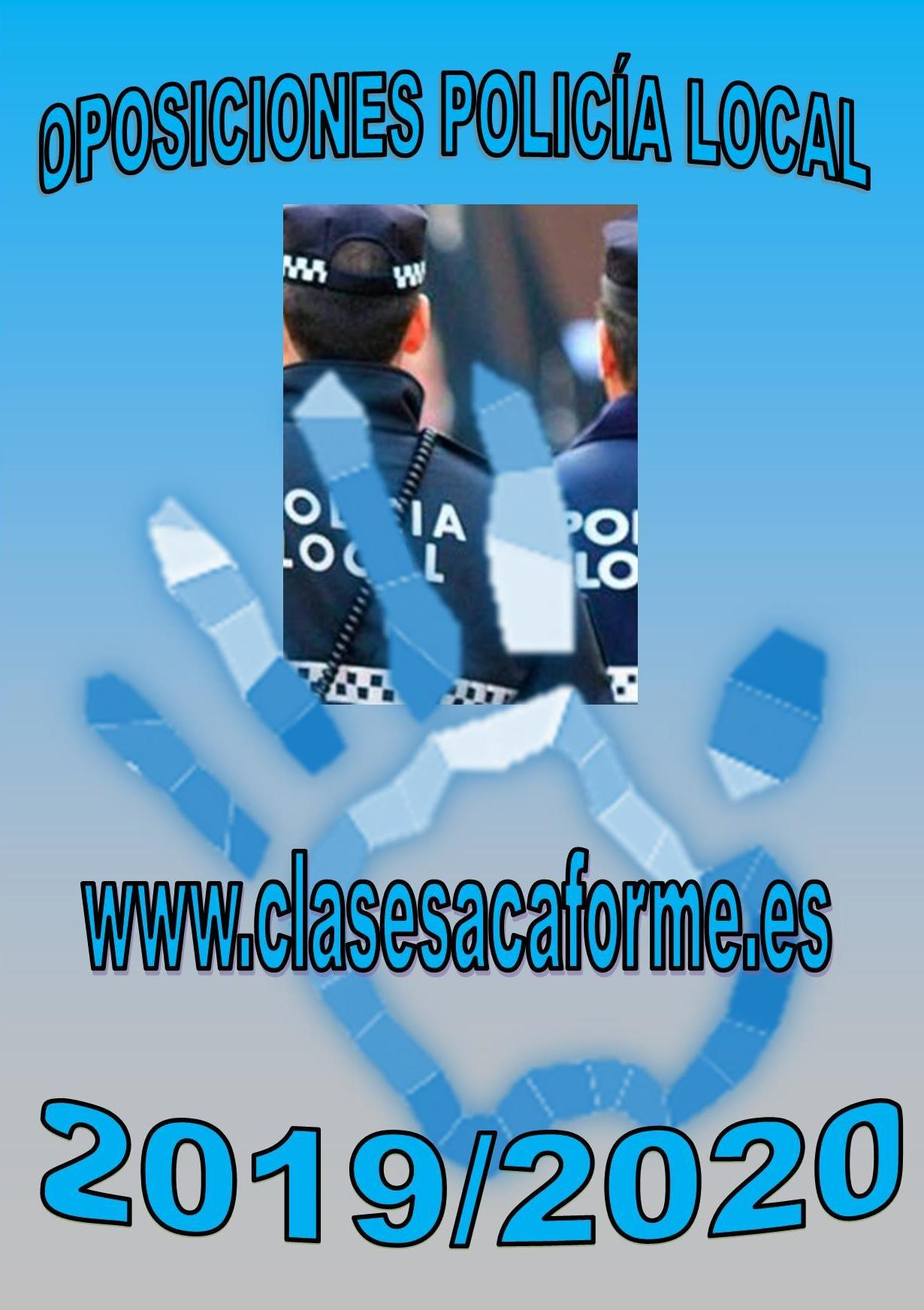 MÁS DE 200 PLAZAS POLICÍA LOCAL CASTILLA LA MANCHA (ACTUALIZACIÓN SEPTIEMBRE 2019)