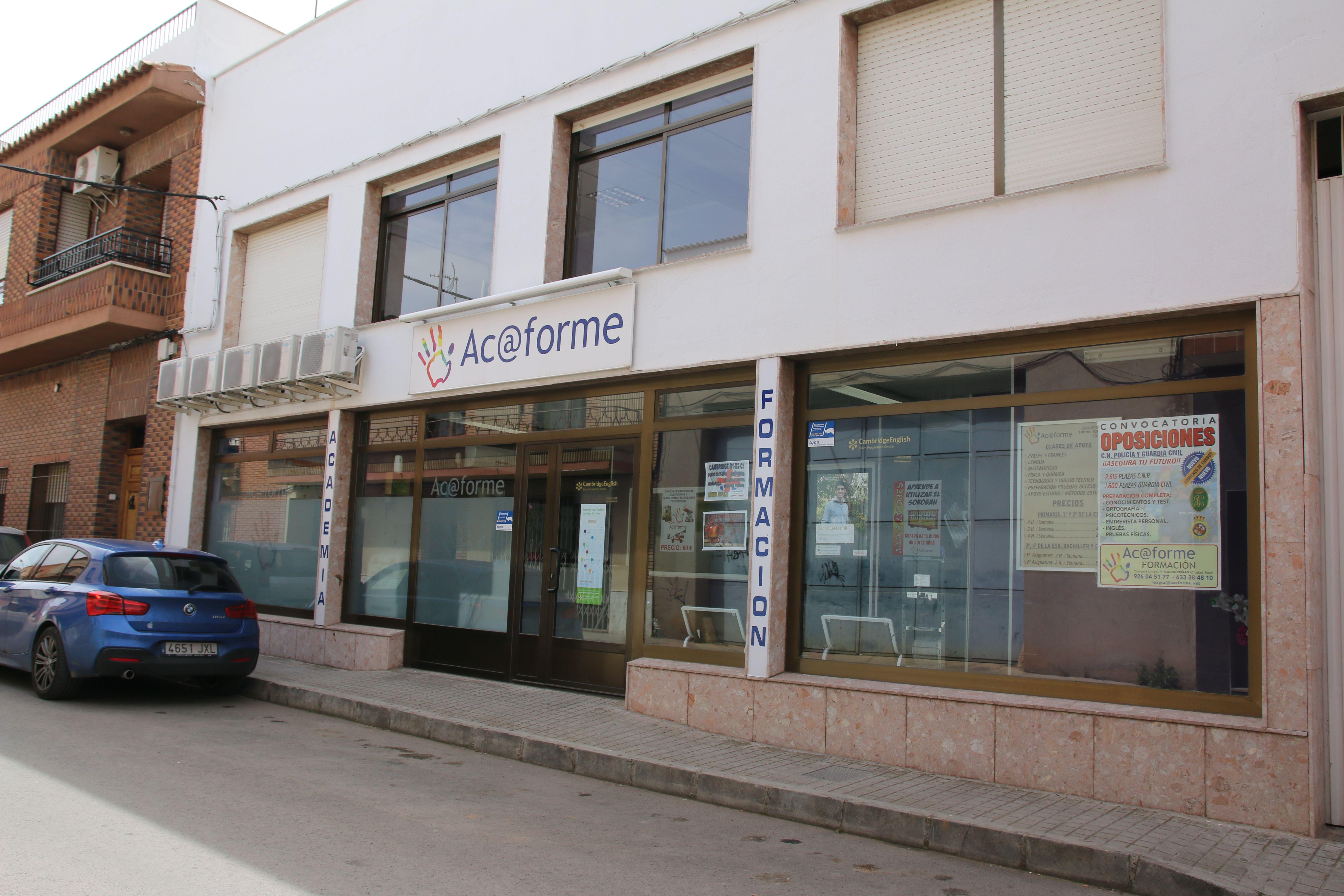 Academia de oposiciones en Valdepeñas
