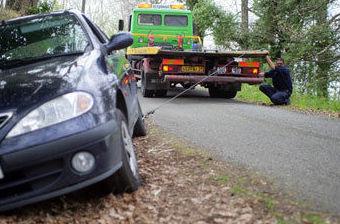 Servicio de recogida de vehículos