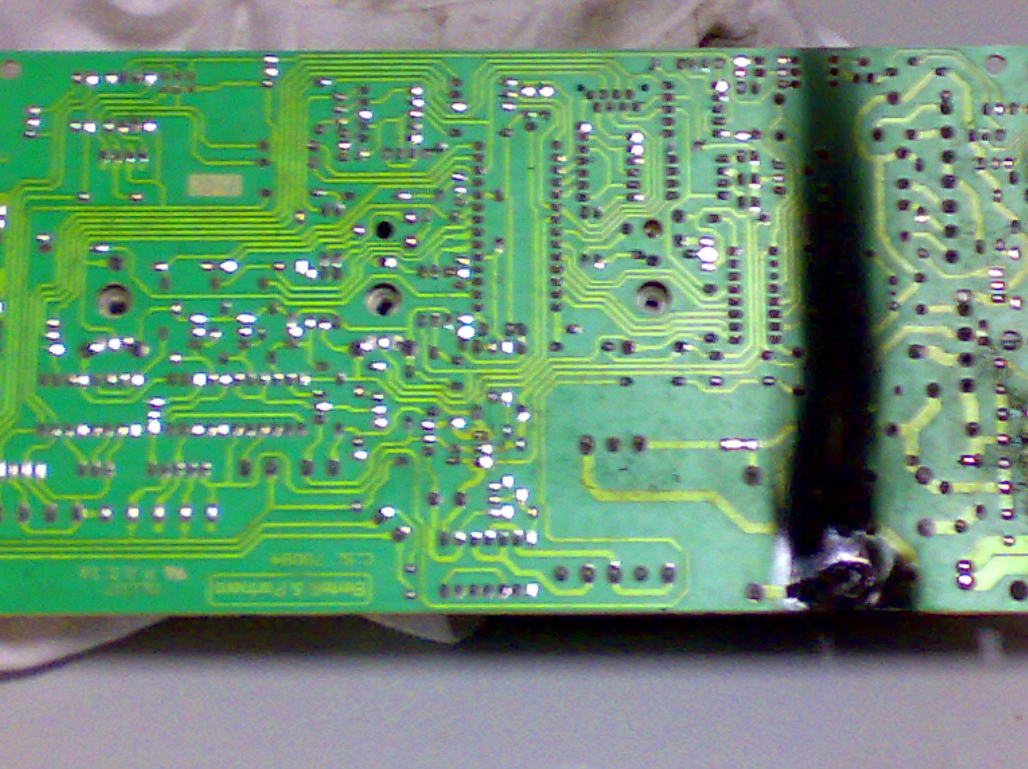 Reparaciones de targetas electronicas para calderas.