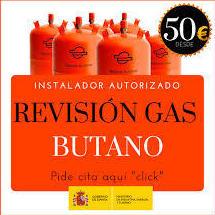 Revisiones de Gas , instaladores Autorizados.