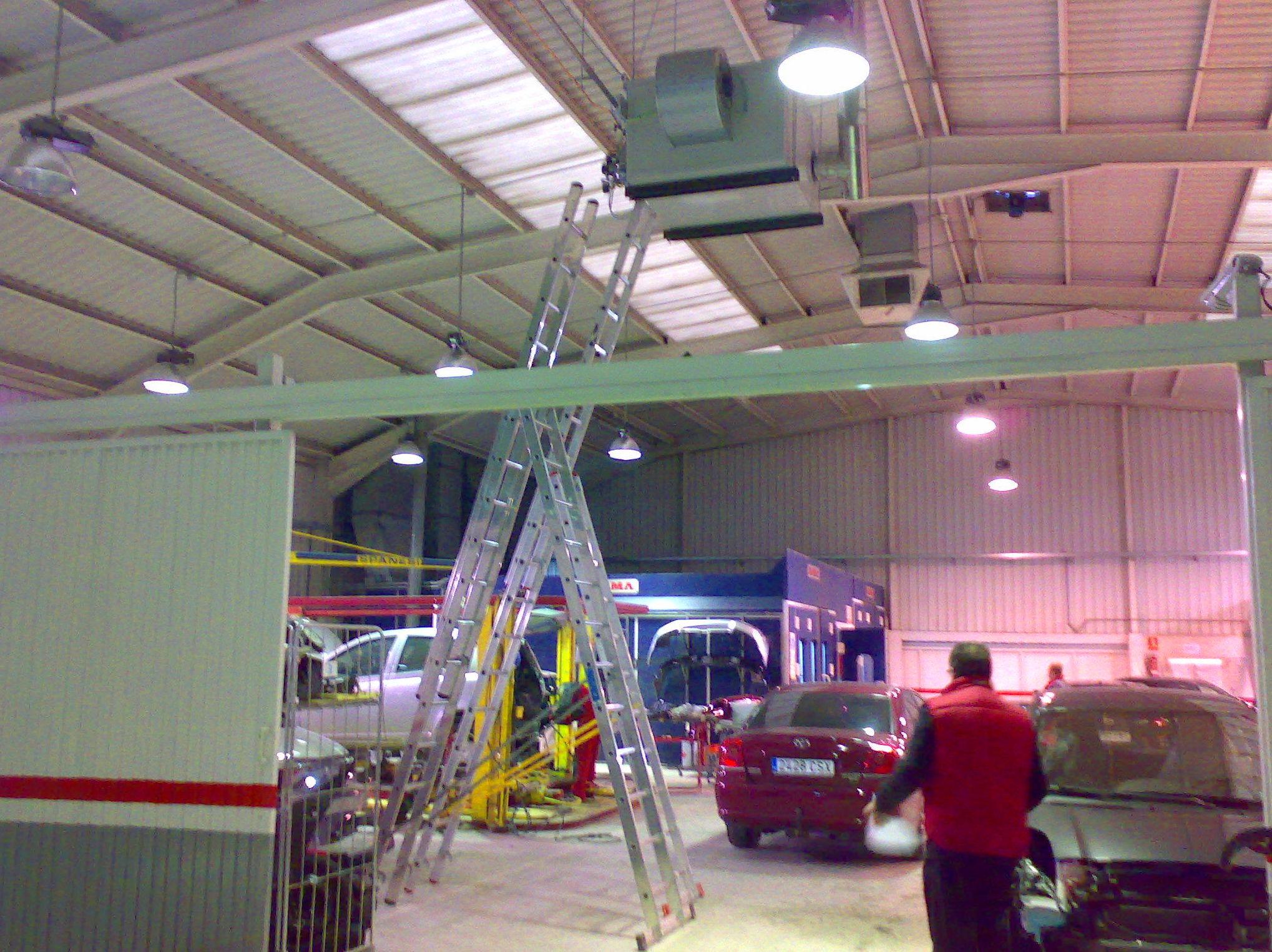 Mantenimientos de generadores de calor y cabinas de pinturas,Reparaciones.