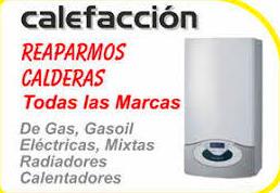 Reparaciones de calderas gas y gas-oil.
