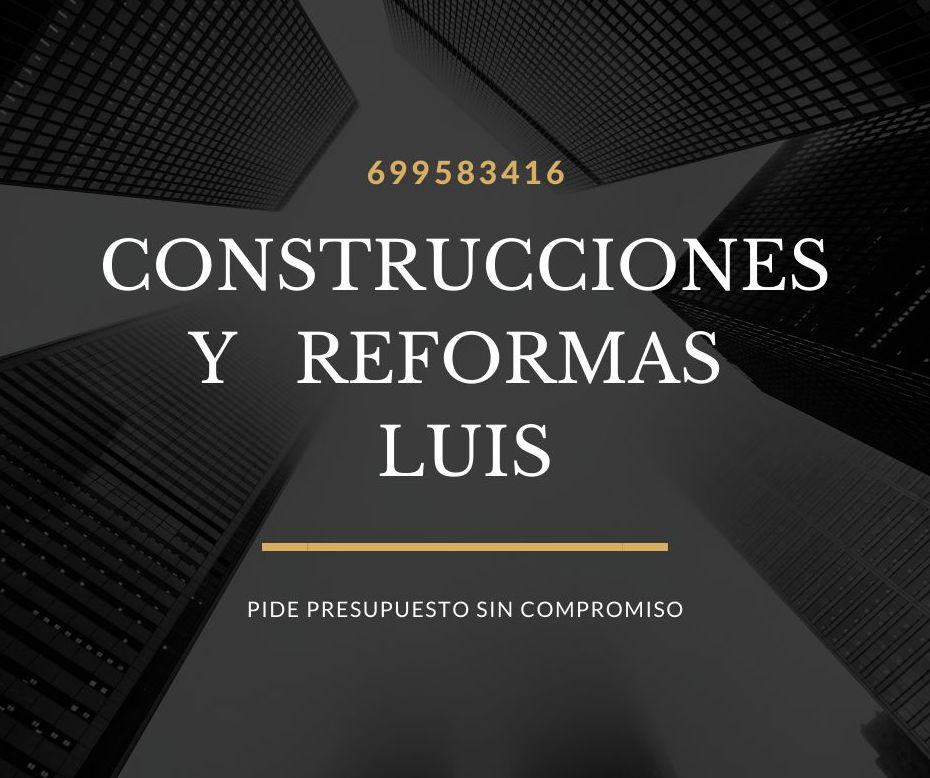 Foto 5 de Construcciones y reformas en    Construcciones y Reformas Luis
