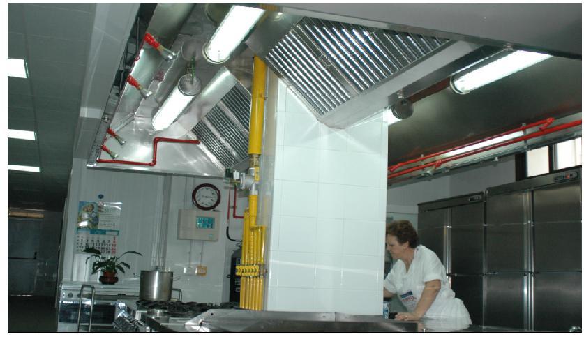 Instalaciones eléctricas para cocinas de hoteles, colegios.....