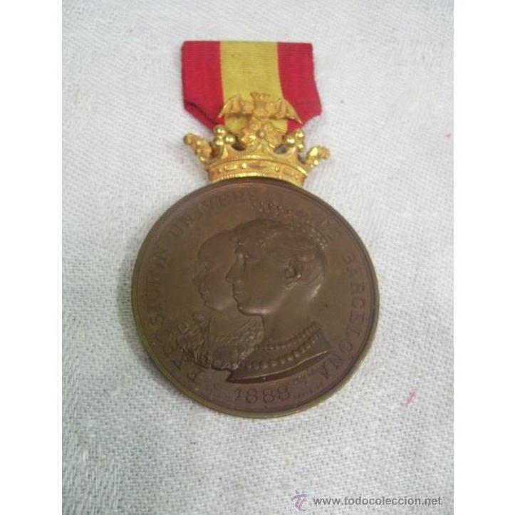 Medalla de Oro, Plata y Bronce. 1888: Catálogo de Antiga Compra-Venta