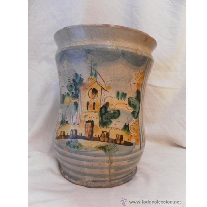 Bote de farmacia posiblemente italiano. Siglo XVIII: Catálogo de Antiga Compra-Venta