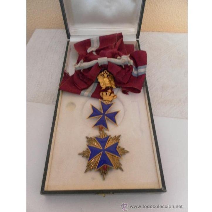 Gran cruz de orden San Salvador y Santa Brígida de Suecia: Catálogo de Antiga Compra-Venta