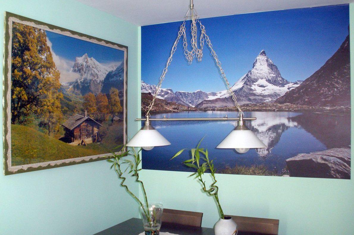 salón paisaje invierno