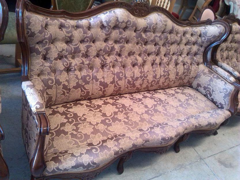 Tapizado de muebles clásicos en Madrid