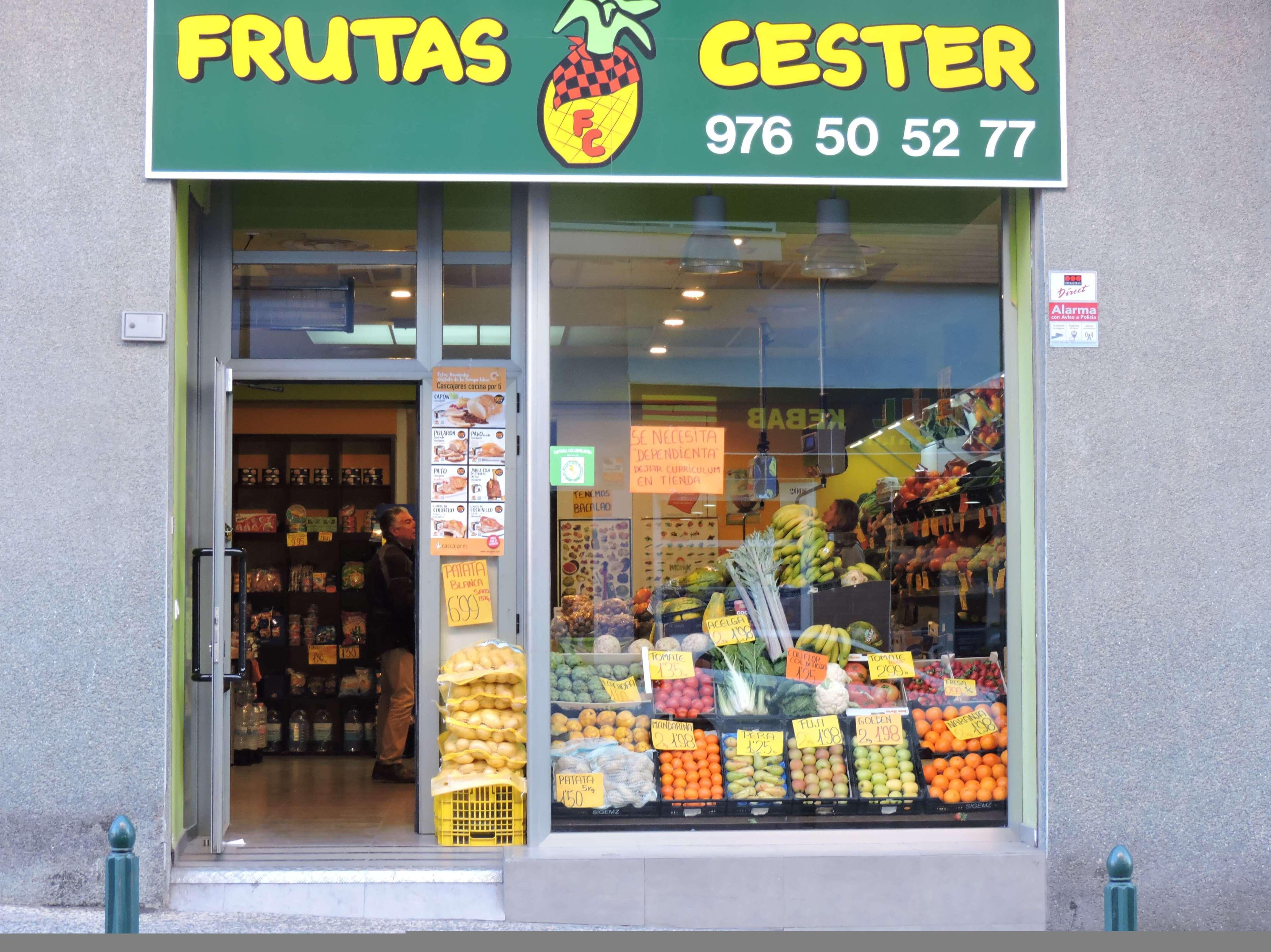 Foto 9 de Fruterías en Zaragoza | Frutas Cester