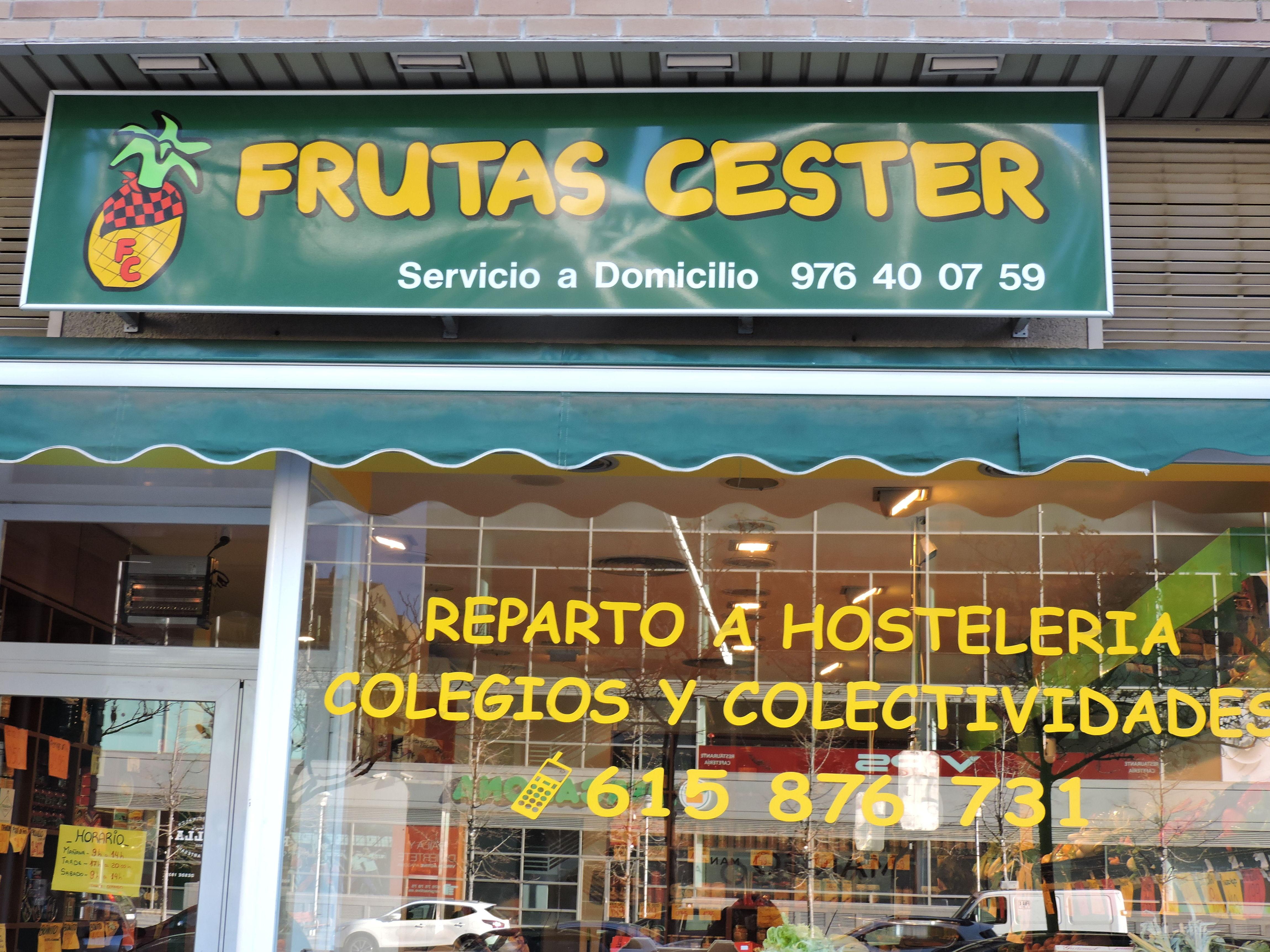 Foto 1 de Fruterías en Zaragoza | Frutas Cester