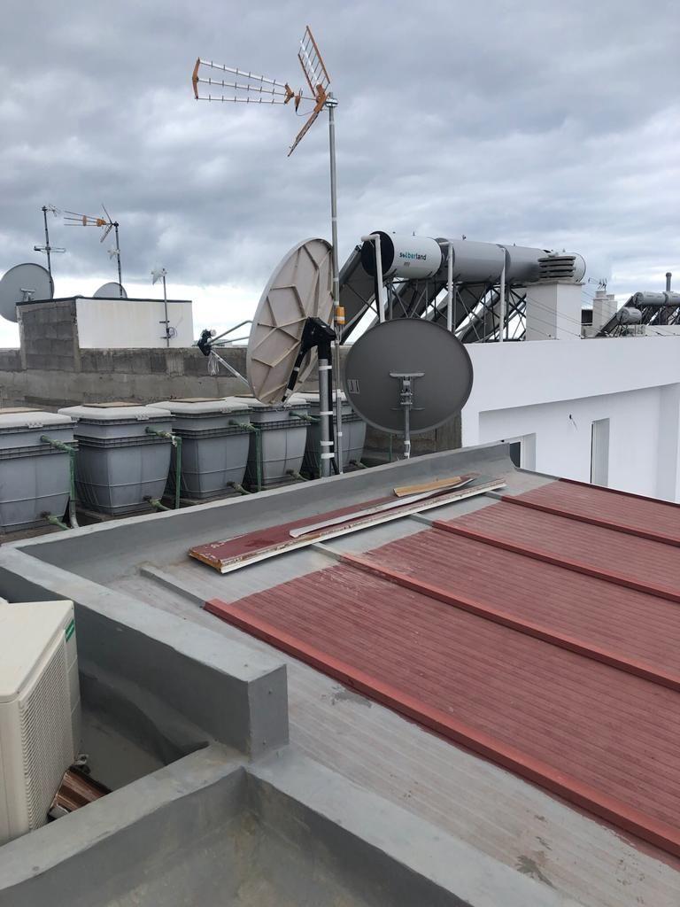 Instalación de todo tipo de antenas en Tenerife